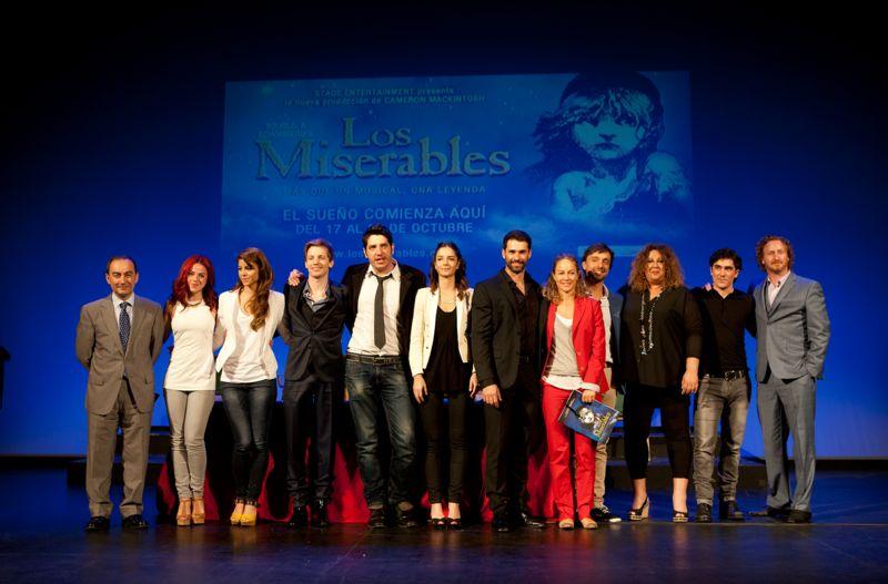 Martinelli, Vidal y Medina protagonizarán la gira de 'Los Miserables'