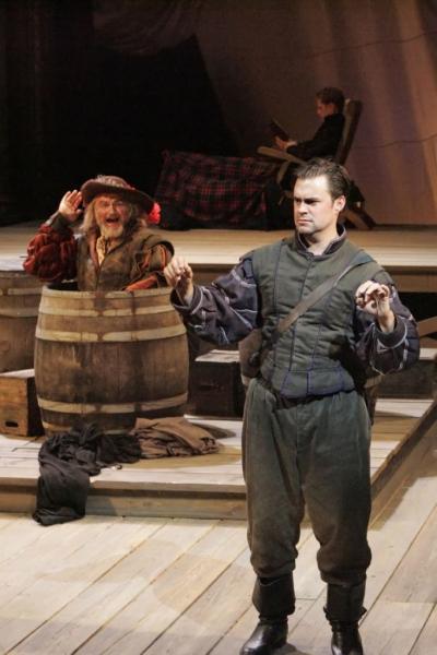 Sherman Howard as The Player and John Lavelle as Rosencrantz