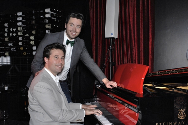 Mark Selby and Michael Hughes Photo