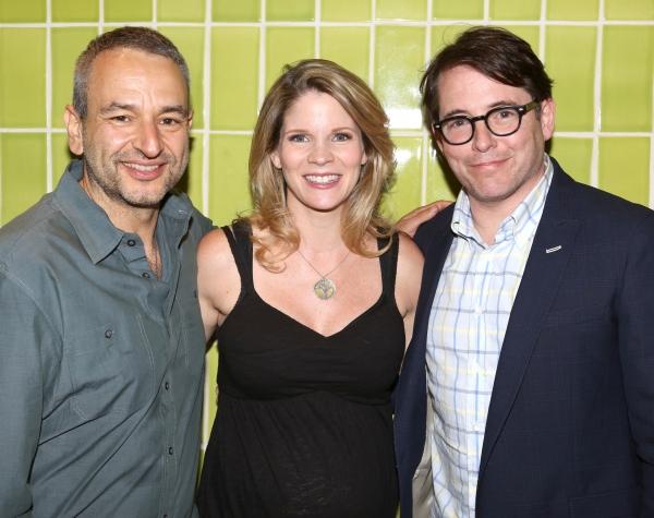 Joe DiPietro; Matthew Broderick and Kelli O''Hara