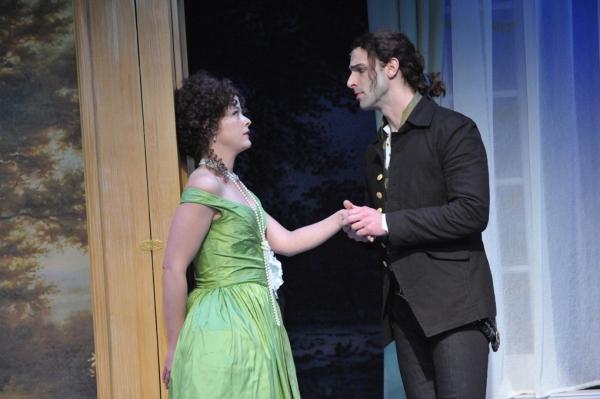Megan Anderson and Danny Gavigan