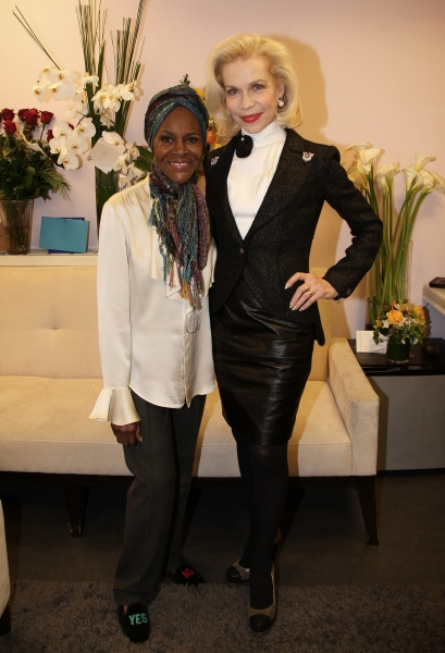 Cicely Tyson and Princess Grace Foundation''s Lynn Wyatt Photo