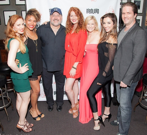 Dana Costello, Emmy Raver-Lampman, Teal Wicks, Courtney Markowitz, Ashley Loren and Aaron Ramey