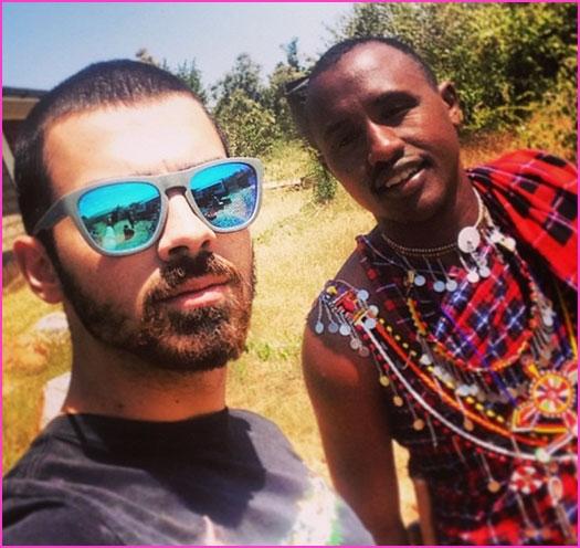 Photo Flash: Joe Jonas Travels to Kenya for African Charity