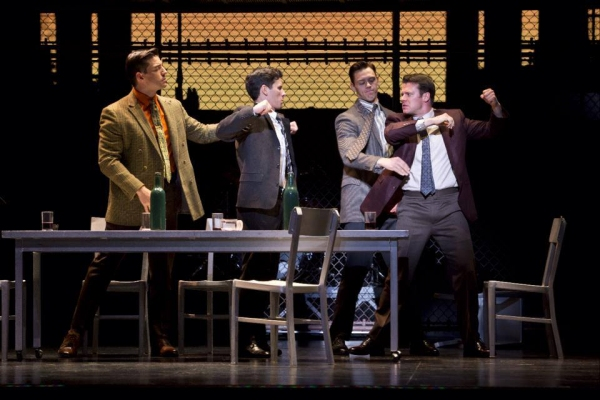 Jason Kappus, Nicolas Dromard, Nick Cosgrove and Brandon Andrus Photo