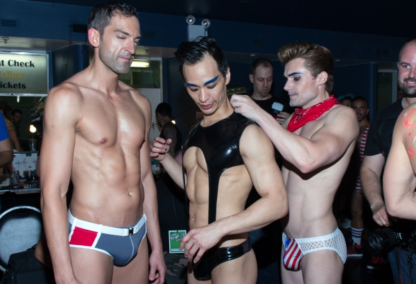 Photo Coverage: More More More! Backstage at BROADWAY BARES 23: UNITED STRIPS OF AMERICA - Part 2