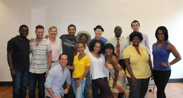 The Cast (clockwise from left): Leajato Robinson, Christopher Spaulding, Carl Wallnau, Kyle Robert Carter, Ernestine Jackson, D.C. Anderson, Michael James Leonard, Cory Bretsch, Zakiya Young, NaTasha Yvette Williams, Debra Walton, Karen Burthwright, Demek
