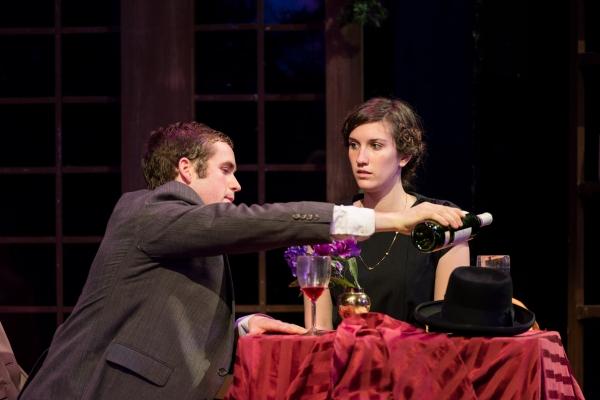 Georg (Woody Buck) and Amalia (Holly Linneman)