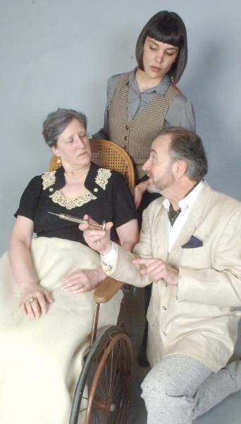 Mrs. Elmore Boynton (Muriel J. Bonertz, left) is certainly ill enough to die a natura Photo