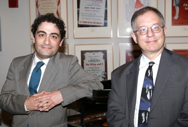 2013 Kleban Prize winners Daniel Mate and Alan Gordon