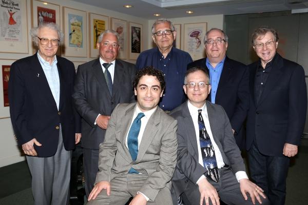 (clockwise from top left) Sheldon Harnick, Elliot Brown, Richard Maltby, Jr., Richard Photo