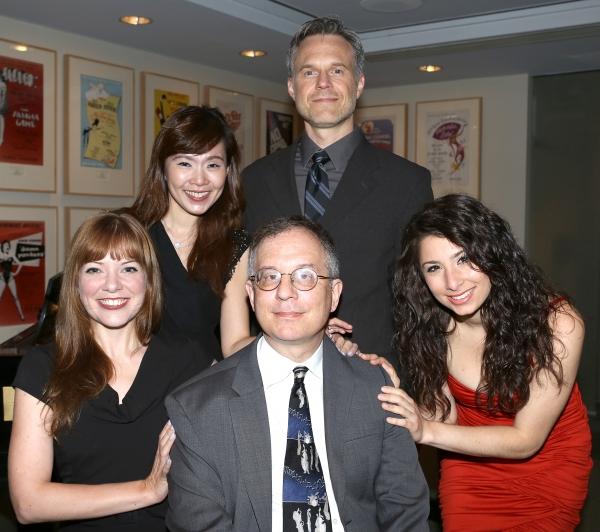 (clockwise from bottom left) Jillian Louis, Joy Son, Jonathan Rayson and Tara Novie p Photo