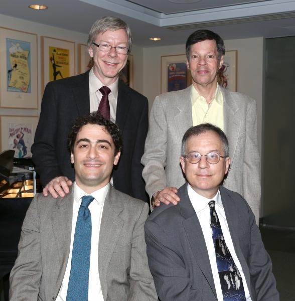 (Back) Patrick Cook, Michael Kerker, (Front) Daniel Mate and Alan Gordon Photo