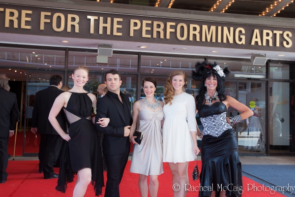Elley-Ray Hennessy and Members of The Wizard of Oz Photo