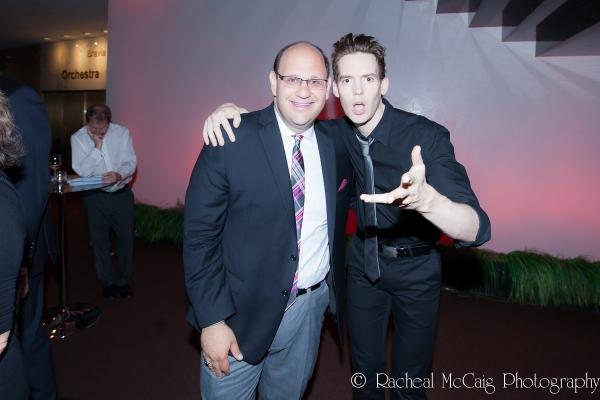 Michael Rubinoff and Jamie McKnight