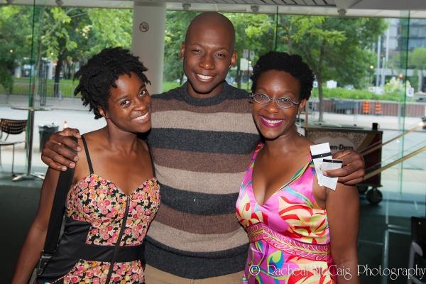 Jajube Mandiela, Thomas Olajide, Andrea Scott Photo