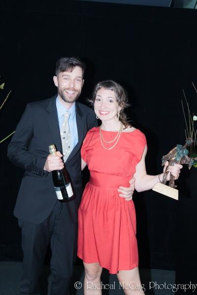 Matt Brown and Steffi Didomenicantonio