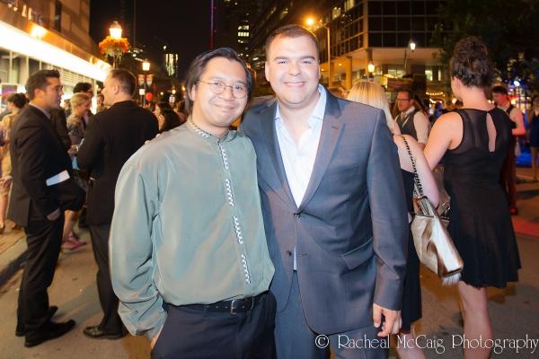 Joseph Aragon and Scott Christian