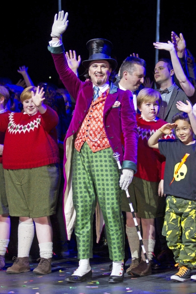 Photo Flash: CHARLIE AND THE CHOCOLATE FACTORY Celebrates Opening Night- Inside the Curtain Call & After Party!