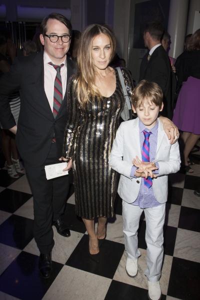 Matthew Broderick, Sarah Jessica Parker and James Broderick Photo