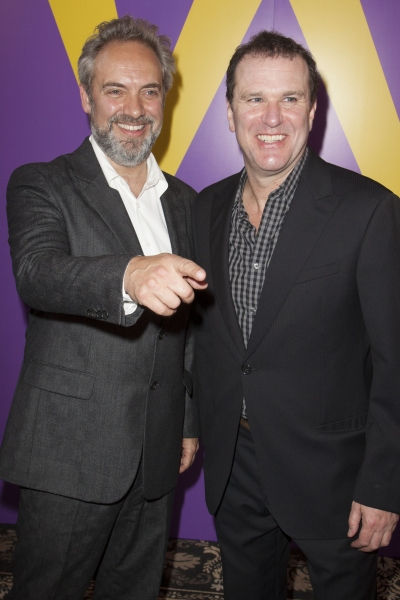 Sam Mendes (Director) and Douglas Hodge (Willy Wonka)