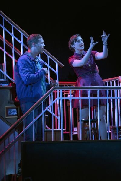 Russell Harvard as Billy and Meghan O'Neill as Sylvia
