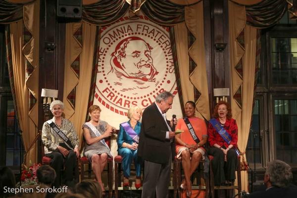 Stewie Stone & Miss Subways Mary Gardiner Timoney, Rosalind Catena, Peggy Byrne, Ellen Hart Sturm, Ayana Lawson, Maureen Walsh Roaldsen