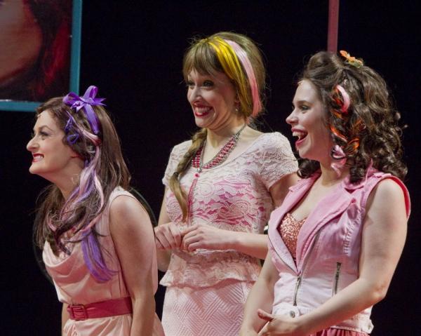 Amanda LaMotte, Kira Josephson and Katie Quigley