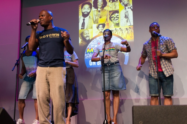 Photo Coverage: MOTOWN Cast Performs at the Apple Store!