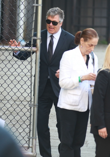 Photo Flash: Alec Baldwin, Edie Falco & More Attend Funeral of James Gandolfini