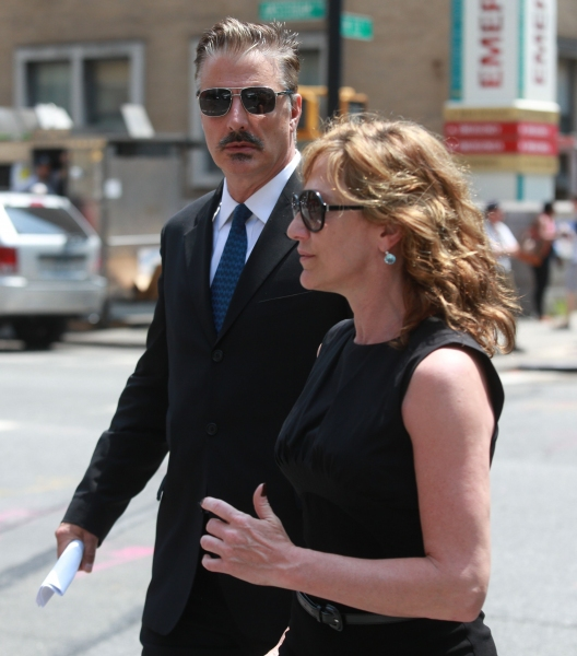 Chris Noth and Edie Falco