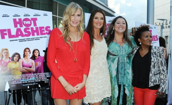 Daryl Hannah, Brooke Shields, Camyrn Manheim, Wanda Sykes