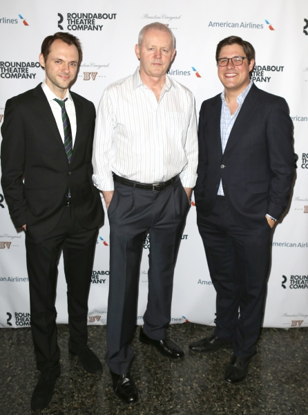 Christopher Denham, David Morse and Rich Sommer