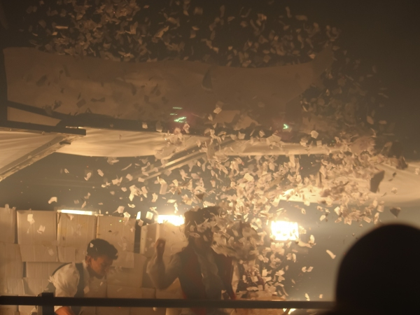 Photo Coverage: FUERZA BRUTA Celebrates 2000th Performance!