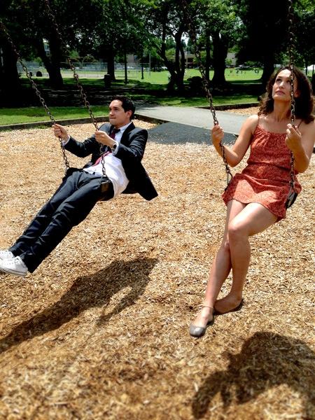 Doug (Richard Nguyen Sloniker) and Kayleen (Amanda Zarr)