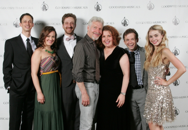 Spencer Moses, Ashley Brown, Daniel Goldstein, Tony Sheldon, Klea Blackhurst, Jeremy  Photo