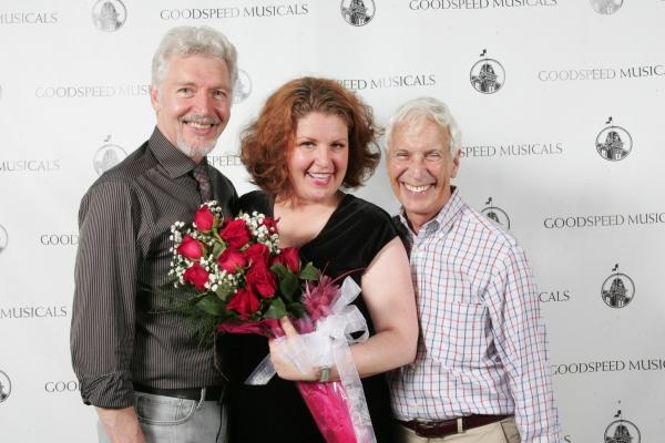 Tony Sheldon, Klea Blackhurst and MIchael Price