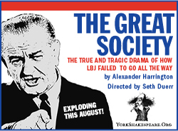 Lyndon B. Johnson Plays ALL THE WAY and THE GREAT SOCIETY Vying for Broadway?