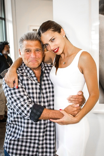 Ed Razek and Adriana Lima