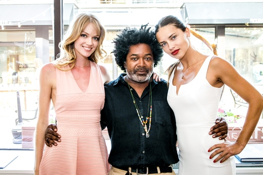 Lindsay Ellingson, Fred Howard and Adriana Lima