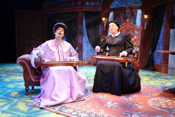 Photo Flash: First Look - Bay Street Theatre's THE MYSTERY OF IRMA VEP, Opening 7/2