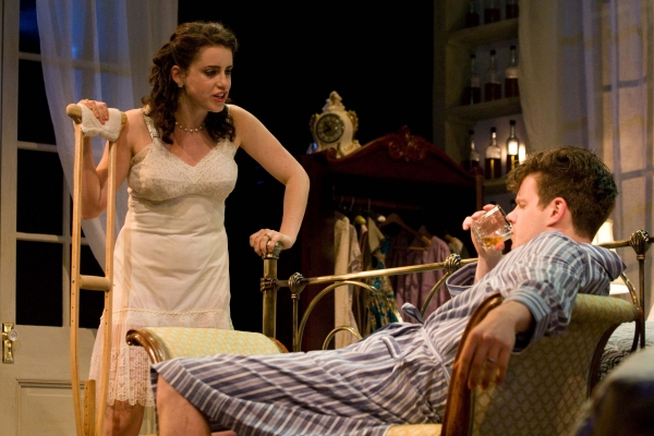 Carly Zien (Maggie) and Peter Mark Kendall (Brick)