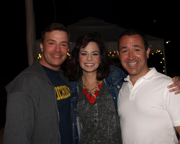 Danny Gurwin, Hilary Maiberger, and Steve Glaudini Photo