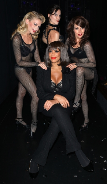 Wendy Williams (Bottom)  with (L-R) Anne Horak, Cristy Candler, Donna Marie Asbury