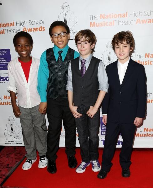 KINKY BOOTS Cast: Cole Bullock, Marquise Neal, Sebastian Hedges, Jonah Halperin