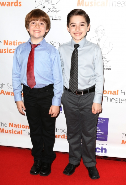 NEWSIES Cast: Nicholas Lampiasi, Joshua Colley
