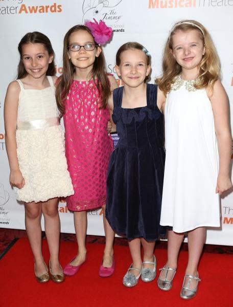 Matilda Cast: Bailey Ryon, Oona Laurence, Bailey Ryon; Sophia Gennusa, Milly Shapiro