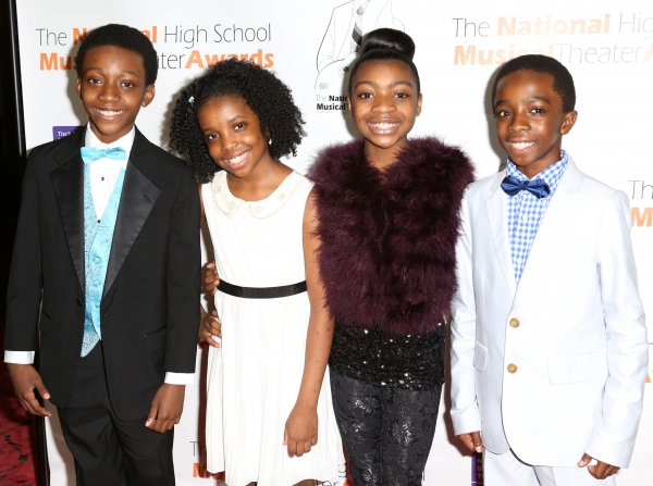 Lion King Cast: Jaden Jordan, Bobbi Bordley, Teshi Thomas and Caleb McLaughlin