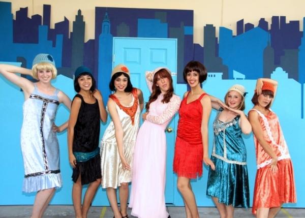 Kelsey Chaykowski (Rita), Kayla Oritz (Lucille), Annie Ortiz (Cora),  Micah Lambert (Miss Dorothy Brown), Kayla Atkinson (Millie Dillmount),  Abigail Cash (Alice), Kelsey Simon (Gloria)
