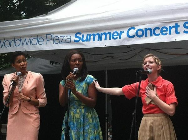 'Crazy Mixed Up Feeling' with singers Allyson Tucker, Daisy Hobbs and Jenavene Hester Photo